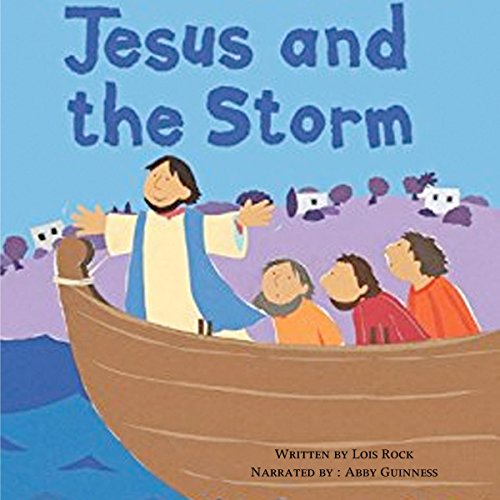 Jesus and the Storm: My Very First Bible Stories audiobook cover art