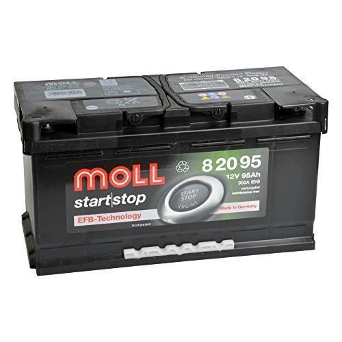 MOLL start|stop EFB 12V 95Ah 82095 Autobatterie