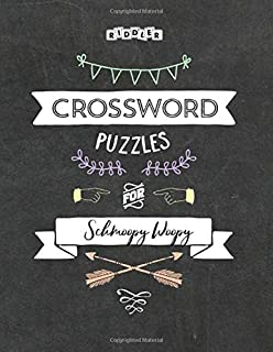 Crossword Puzzles for Schmoopy Woopy