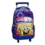 CYP BRANDS- Mochila Trolley Fijo Bob Esponja, Multicolor (MC-104-ES)