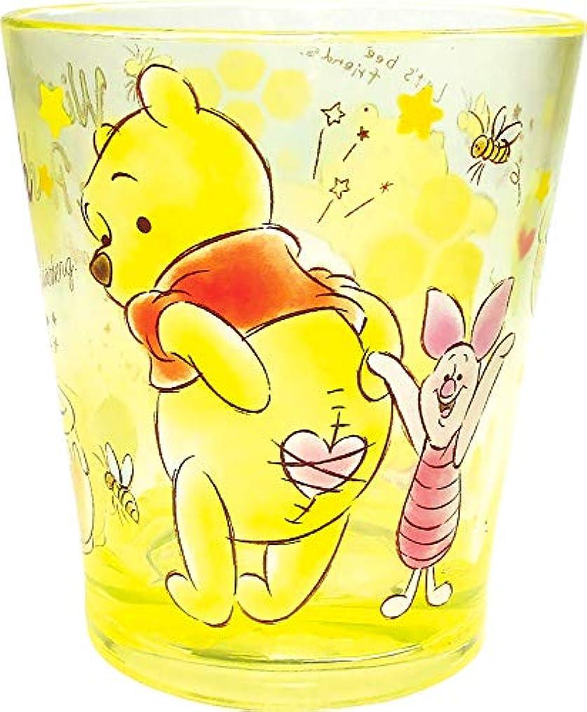 美徳無謀病的ティーズファクトリー ディズニー ファンタイムカラークリスタルカップ くまのプーさん H9.2×Φ8cm DN-5526313PO