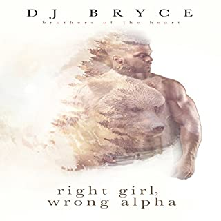Right Girl, Wrong Alpha audiobook cover art