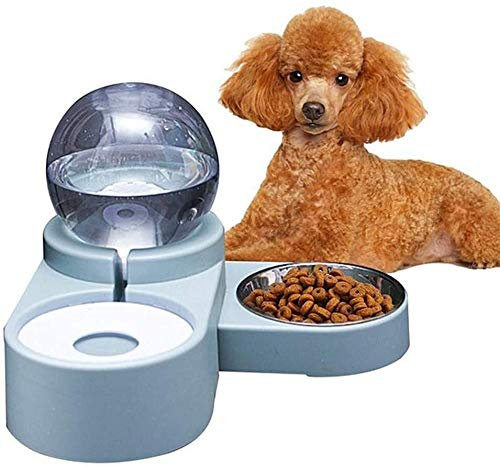 Katzenfutter Schüssel Hundefutter Schüssel Cat Water Dispenser-Fressnäpfe for Hunde Futterschalen for Hunde Fressnäpfe for Katzen Hundenäpfe nicht Beleg Shallow Cat Bowl blau Jialele ( Color : Blue )