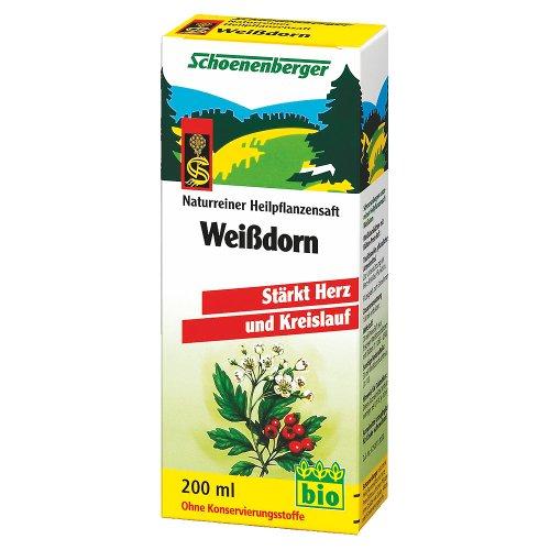 Weißdorn. Naturreiner Heilpflanzensaft bio (200 ml)
