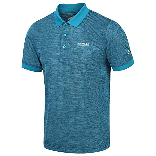 Regatta Mens Remex II Short Sleeve Quick Drying Polo Shirt