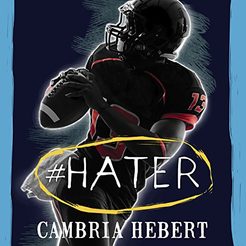 #Hater audiobook cover art