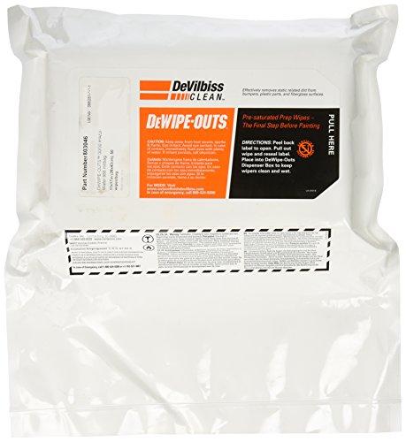 DeVilbiss 803046 'DeWipe-Outs' Prep Wipe