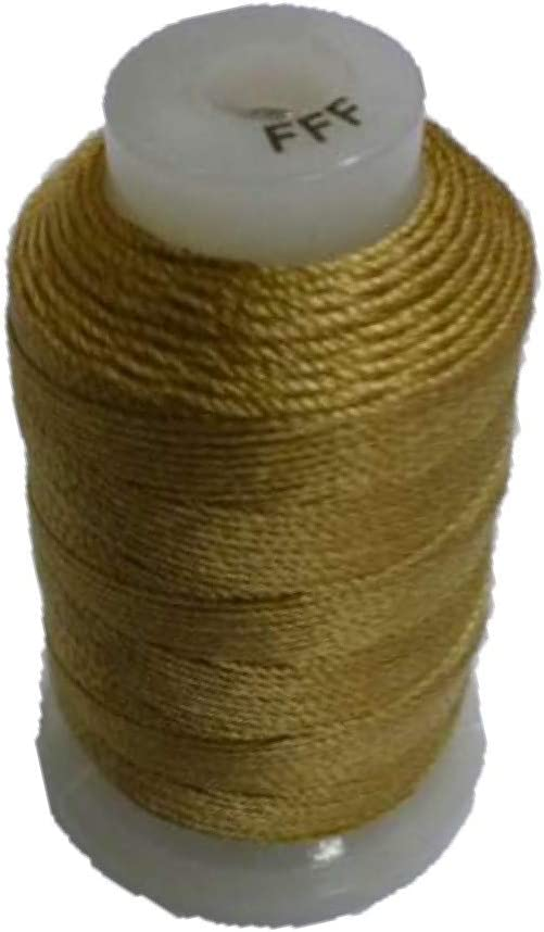 SSCC Gold Silk Spool Cord Max Max 54% OFF 57% OFF Size FFF 92yds Beading