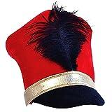 Tigerdoe Toy Soldier Hat - Drum Major Hat - Soldier Hat - Marching Band Hat - Nutcracker Hat - Toy Soldier Costume (Marching Band Hat) Blue
