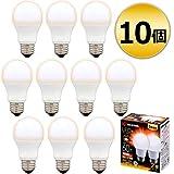 アイリスオーヤマ LED電球 60W 10個セット E26 広配光 電球色 LDA7L-G-6T62P