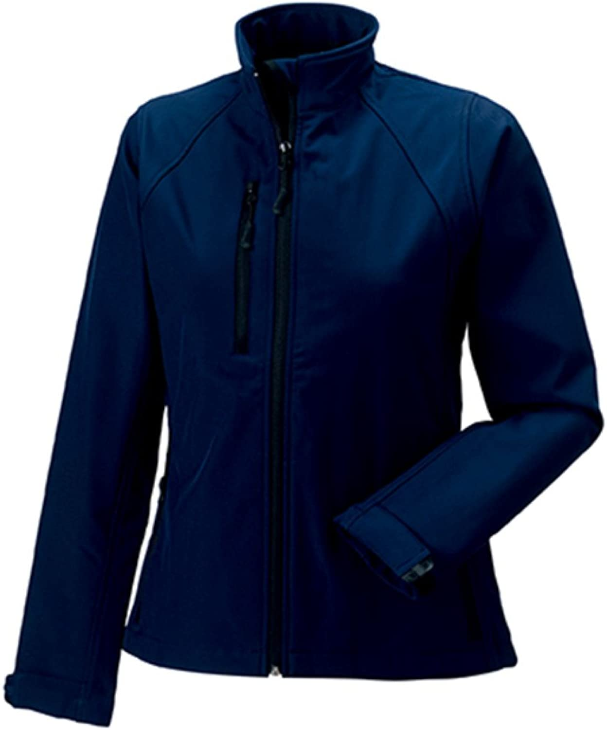 Jerzees Colours Ladies Soft Shell Jacket   colorFrench Navy   Size4XL