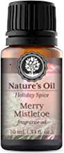 Merry Mistletoe Fragrance Oil 10ml for Holiday Diffuser Oils, Making Soap, Candles, Lotion, Home Scents, Linen Spray and Lotion