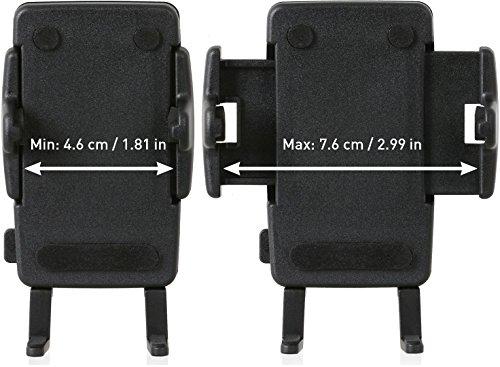 Sony DSX-A410BT MP3 Autoradio (Dual Bluetooth, NFC, USB, AUX Anschluss, Beleuchtung, 4 x 55 Watt, Freisprechen) rot & Wicked Chili KFZ Halterung mit Kugelgelenk kompatibel