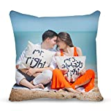 Custom Pillow, Personalized Photo Pillows, Custom Photo Pillow with Insert - 13X13 Inches with Duplex Print Image/Text - Unique Gift for Birthday/Christmas/Thanksgiving/Valentine's Day