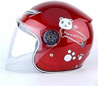 Motorcycle Helmet Electric Car Helmet Battery Car Helmet Male and Female Winter Child Helmet,2