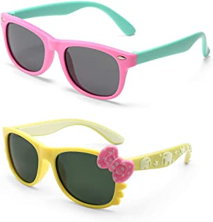 MotoEye Sunglasses for Kids, Age 4-12 Years Old, Girl or...
