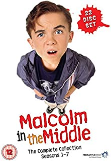 Malcolm in the Middle - Complete Collection (Seasons 1-7) - 22-DVD Box Set ( Malcolm in the Middle - Seasons One to Seven ) [ NON-USA FORMAT, PAL, Reg.2 Import - United Kingdom ] by Bryan Cranston