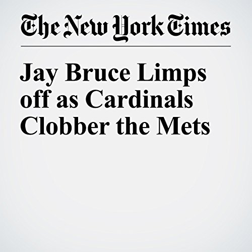 Jay Bruce Limps off as Cardinals Clobber the Mets cover art