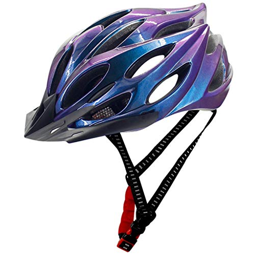 Lowest Price! Adult Bike Helmet Mountain Bike Helmet with Magnetic Goggles & Detachable Visor MTB Bi...