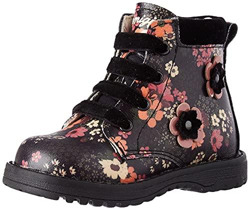 Primigi PCA 84111 Fashion Boot, Nero Multicolor, 33 EU