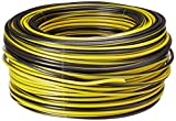 SANELEC 4082 Cable THW, Calibre 12 AWG, Color Negro, 100 m