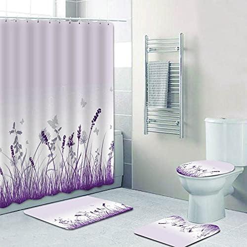 dodouna Chic Hello Cheap super special price Beautiful Watercolor Max 83% OFF Shower Se Curtain Floral