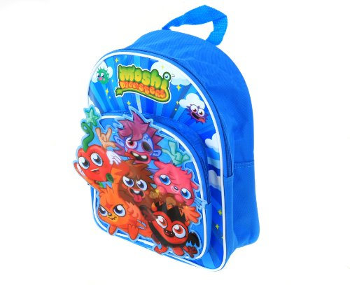 Moshi Monsters Trade Mark Collections Rucksack mit Fronttasche