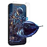 Glass Screen Protector for iPhone 12 and Compatible with iPhone 12 Pro, HD Clarity 0.25mm Tempered Glass Film, 9H Hardness 3D Touch Anti Scratch Bubble-Free Fingerprint Compatible Protector