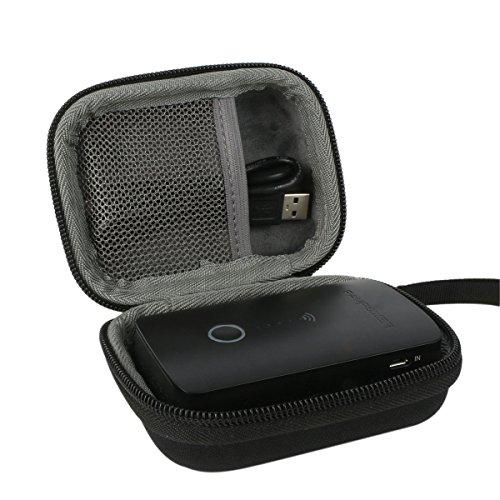 Preisvergleich Produktbild Hart Reise Schutz Hülle Etui Tasche für RAVPower kabelloser SD Kartenleser / wireless Router / Wifi Repeater Powerbank Zusatzakku von co2CREA