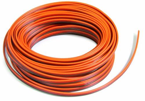 Jamara 98020 - Kabel JR 3x0.14 mm² 100 m lose flach