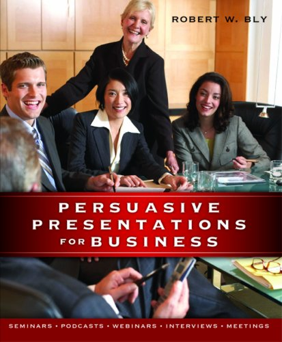 Download Persuasive Presentations for Business 1599181770
