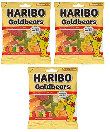 Haribo Goldbears Share Size Jellies (140 gm Pk of 3)