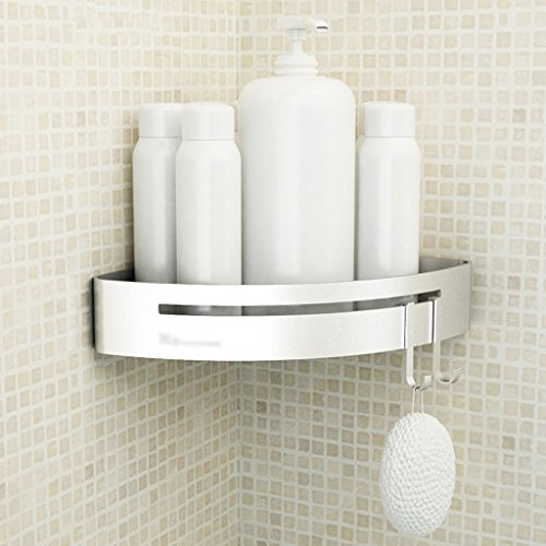 Étagère Lingyun Aluminium sans Perforation Installation Salle de Bain WC Mural Rack boîte de Rangement (Conception : # 3)