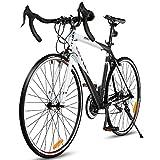 Goplus Commuter Bike Road Bike Quick Release Aluminum 700C Shimano 21...