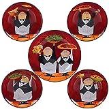 Certified International Corp Certified International Waiters Pasta Set, Multicolored, 5 Piece