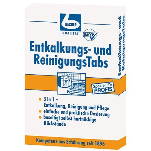 80 Dr. Becher Entkalkungs- und ReinigungsTabs