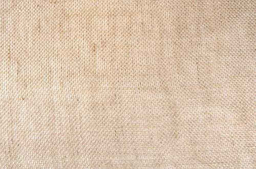 Ck - Chemin table jute naturel mailles serrées rouleau de 5mètres