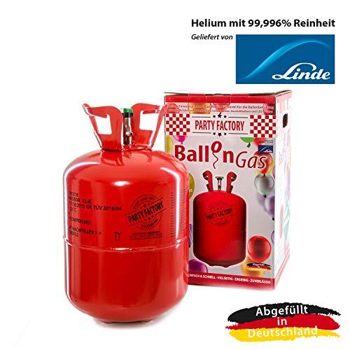 Party Factory Ballongas Helium für 50 Luftballons