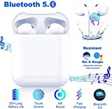 Auricolare Bluetooth Senza Fili, Cuffie Wireless Stereo 3D with IPX7 Impermeabile,Adatto Compatibile con iPhone/Android/Apple/AirPods