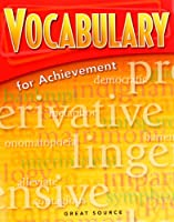 Great Source Vocabulary for Achievement: Student Edition Grade 6