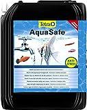 tetra aquasafe - condizionatore per acqua di acquario di qualità per pesci e acquari naturali, neutralizza le sostanze nocive per la pesca nell'acqua del rubinetto, diverse misure