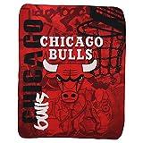 The Northwest Company NBA Lightweight Fleece Blanket (50' x 60') - Chicago Bulls