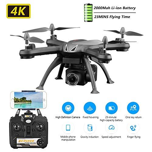 RC Drone per Principianti WiFi FPV RC Quadcopter con rollio 3D, Mantenimento dell'altitudine, sensore di gravità, Controllo App, modalità Senza Testa