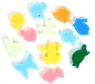 LEORX éponge en forme de peinture pour enfants pack de 24(couleur au hasard)
