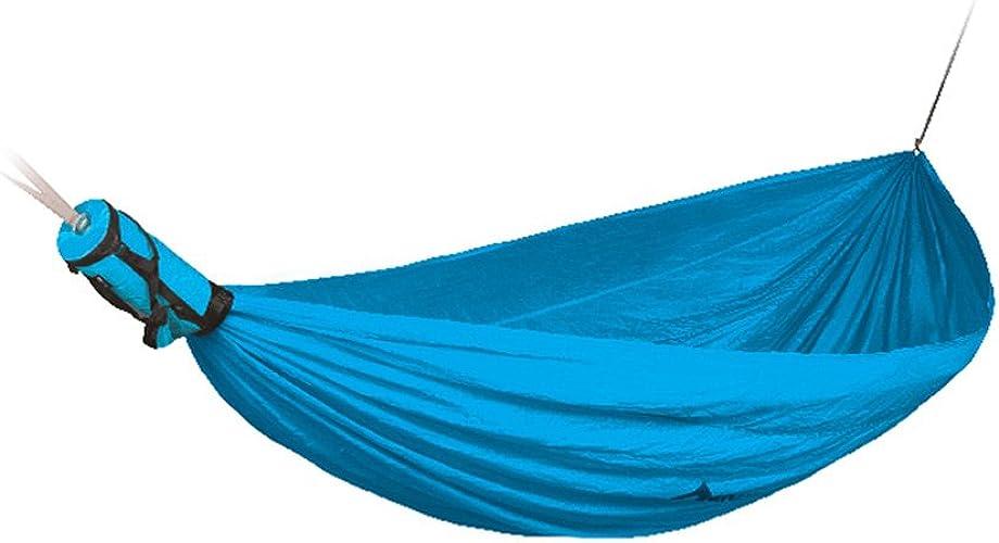 JU FU hamac Hamac extérieur 2 Personnes Portable Camping Tourisme 300 × 190cm 3 Couleur en Option @@