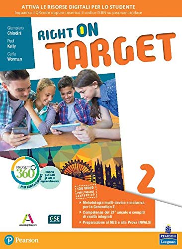 Right on target. Per la Scuola media. Con e-book. Con espansione online: 2