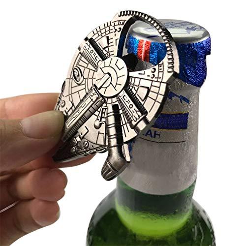 Cirdora Rebel Alliance Star Wars Millenium Falcon Metall-Flaschenöffner Originalfassung Für Bar Party, Einzigartiges Biergeschenk, Geschenke Für Männer