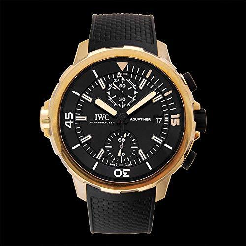 IWCアクアタイマークロノグラフエクスペディションチャールズ・ダーウィンIW379503ブラック文字盤新品腕時計メンズ(W190890)[並行輸入品]