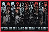 1art1 Assassin'S Creed Poster and Frame (Plastic) - Work In The Dark (36 x 24 Inches)