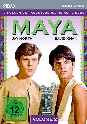 Maya, Vol. 2 / Weitere 9 Folgen der Kult-Abenteuerserie (Pidax Serien-Klassiker) [3 DVDs]